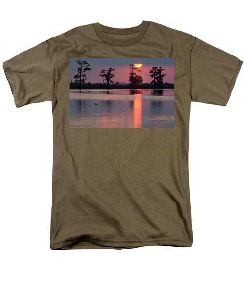 Gone Fishin Men's T-Shirt  (Regular Fit) by Charlotte Schafer