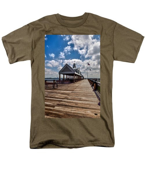 Men's T-Shirt  (Regular Fit) featuring the photograph Gone Fishing by Sennie Pierson