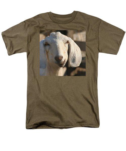 Goofy Goat Men's T-Shirt  (Regular Fit) by Art Block Collections