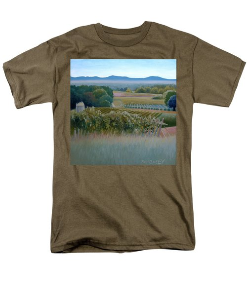 Grace Vineyards No. 1 Men's T-Shirt  (Regular Fit) by Catherine Twomey