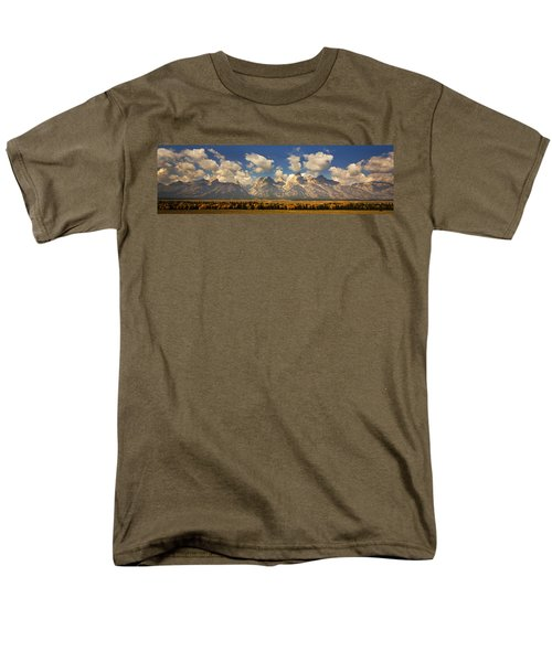 Men's T-Shirt  (Regular Fit) featuring the photograph Grand Tetons by Sonya Lang