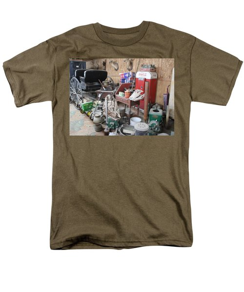 Grandpop's Garage Men's T-Shirt  (Regular Fit) by Judith Morris