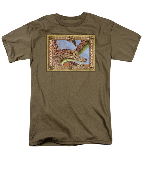 Great Grandmother Combped Men's T-Shirt  (Regular Fit) by Lynda Hoffman-Snodgrass