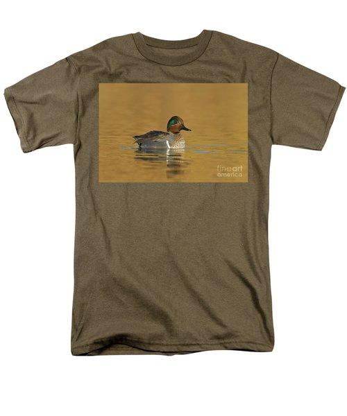 Green Wing Teal Men's T-Shirt  (Regular Fit) by Bryan Keil