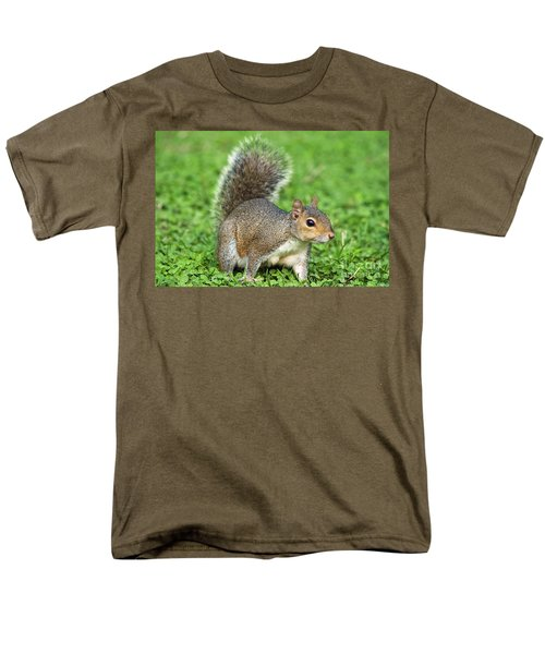 Men's T-Shirt  (Regular Fit) featuring the photograph Grey Squirrel by Antonio Scarpi