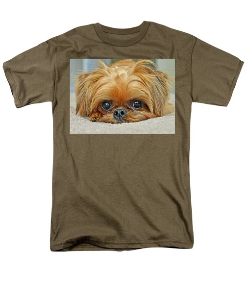 Men's T-Shirt  (Regular Fit) featuring the photograph Griff by Lisa Phillips