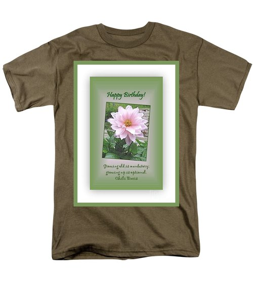 Growing Old Is Optional Men's T-Shirt  (Regular Fit) by Leone Lund