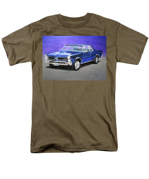 Men's T-Shirt  (Regular Fit) featuring the painting Gto 1965 by Thomas J Herring