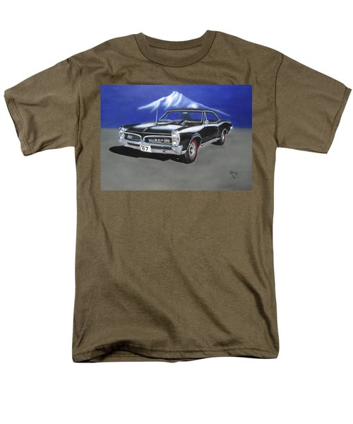 Men's T-Shirt  (Regular Fit) featuring the painting Gto 1967 by Thomas J Herring