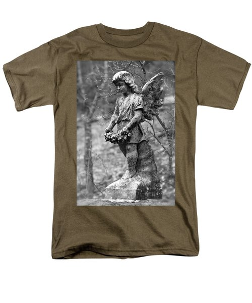 Guardian Angel  Men's T-Shirt  (Regular Fit) by Karon Melillo DeVega
