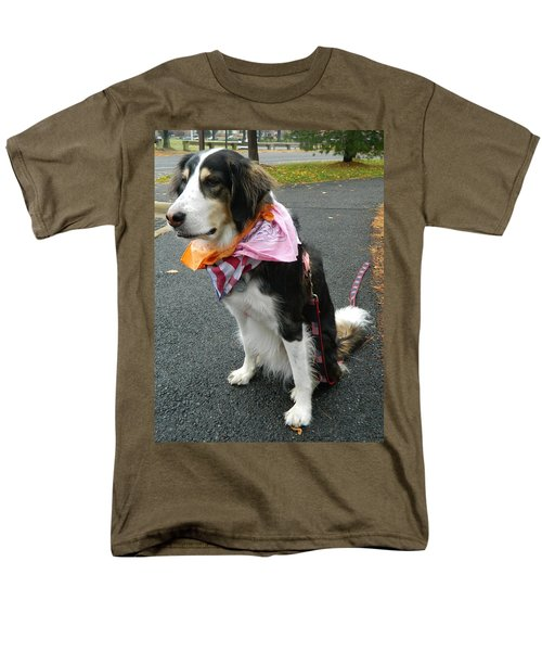 Men's T-Shirt  (Regular Fit) featuring the photograph Haley The Wonder Dog by Emmy Marie Vickers