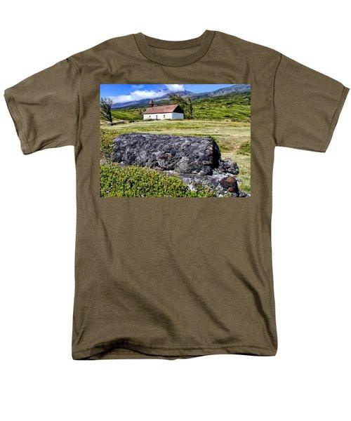 Men's T-Shirt  (Regular Fit) featuring the photograph Hana Church 3 by Dawn Eshelman