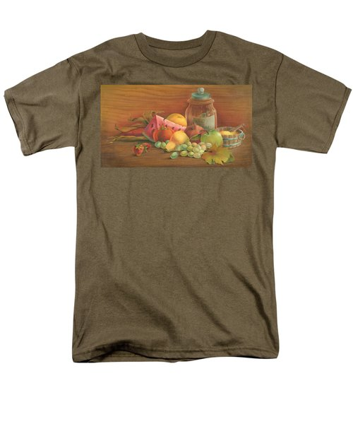 Men's T-Shirt  (Regular Fit) featuring the painting Harvest Fruit by Doreta Y Boyd