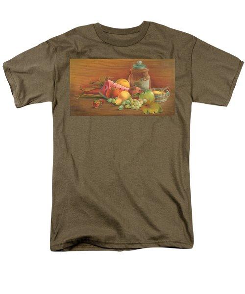 Harvest Fruit Men's T-Shirt  (Regular Fit) by Doreta Y Boyd