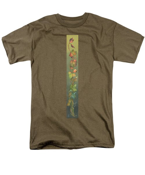 Men's T-Shirt  (Regular Fit) featuring the painting Harvest Grapevine by Doreta Y Boyd