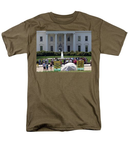 Men's T-Shirt  (Regular Fit) featuring the photograph Have A Nice Doomsday by Ed Weidman