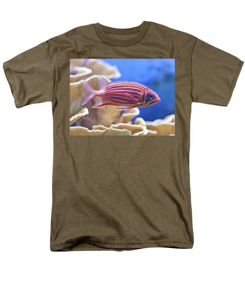 Hawaiian Squirrelfish Men's T-Shirt  (Regular Fit) by Maj Seda