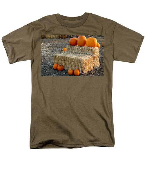Men's T-Shirt  (Regular Fit) featuring the photograph Hay Steps by Michael Gordon