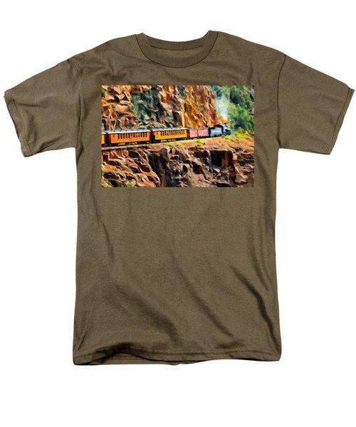 Headed Up The Grade Men's T-Shirt  (Regular Fit) by Michael Pickett