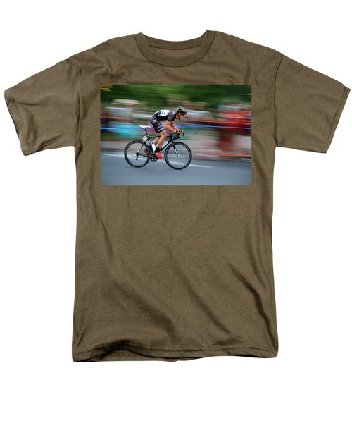 Men's T-Shirt  (Regular Fit) featuring the photograph Heading For The Finish Line by Kevin Desrosiers