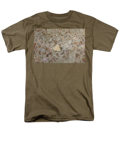 Men's T-Shirt  (Regular Fit) featuring the photograph Heart Of Stone by Fortunate Findings Shirley Dickerson
