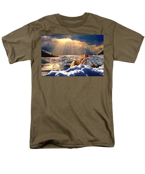 Heavenly Ascension Men's T-Shirt  (Regular Fit) by Ron Chambers
