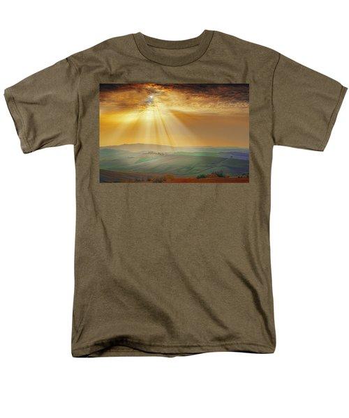 Heavenly Rays Men's T-Shirt  (Regular Fit) by Midori Chan