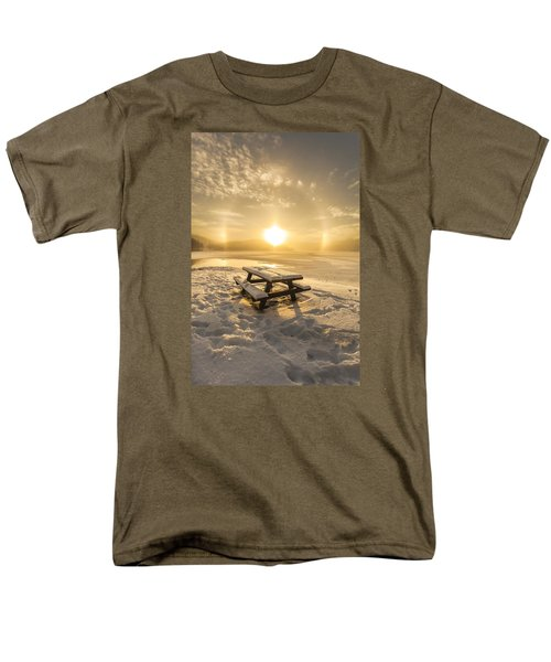 Men's T-Shirt  (Regular Fit) featuring the photograph Heavenly Sleep by Rose-Maries Pictures