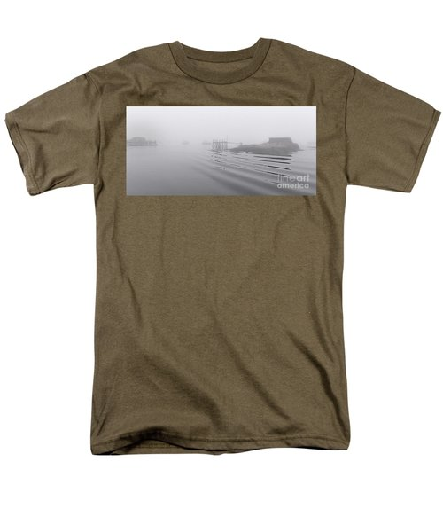 Heavy Fog And Gentle Ripples Men's T-Shirt  (Regular Fit) by Marty Saccone