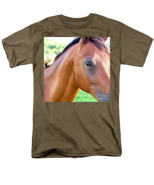 Men's T-Shirt  (Regular Fit) featuring the photograph Hello Beauty by Roselynne Broussard