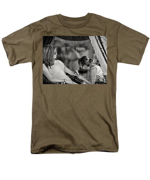 Men's T-Shirt  (Regular Fit) featuring the photograph Henna At The Fair by Jennie Breeze