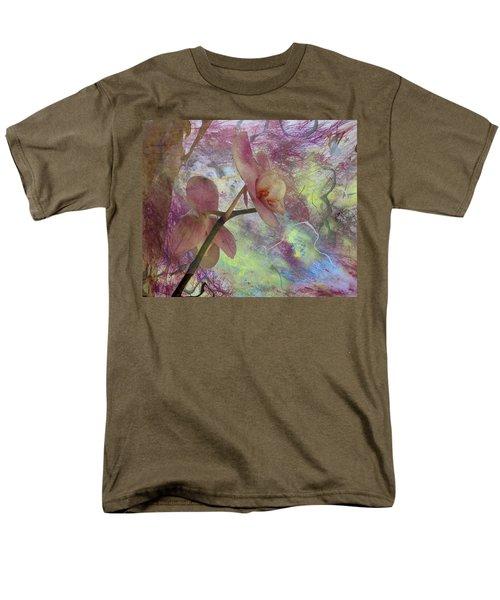 Hidden Orchid Men's T-Shirt  (Regular Fit) by Donna Walsh