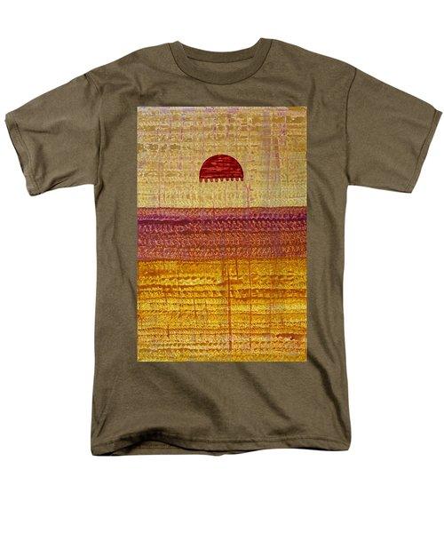 High Desert Horizon Original Painting Men's T-Shirt  (Regular Fit) by Sol Luckman