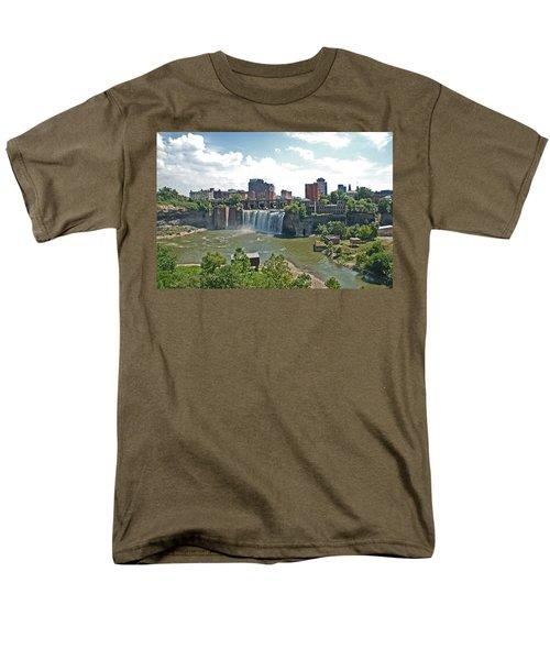 High Falls Men's T-Shirt  (Regular Fit) by Aimee L Maher Photography and Art Visit ALMGallerydotcom