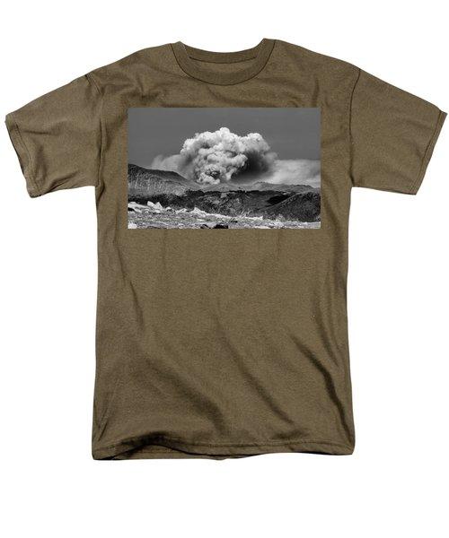 High Park Fire Men's T-Shirt  (Regular Fit) by Ellen Heaverlo