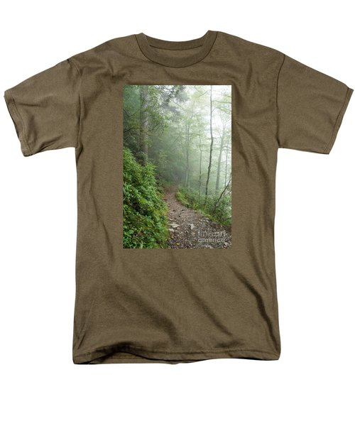 Hiking In The Clouds Men's T-Shirt  (Regular Fit) by Debbie Green