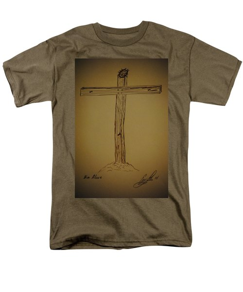 Him Alone Men's T-Shirt  (Regular Fit) by Eric Liller