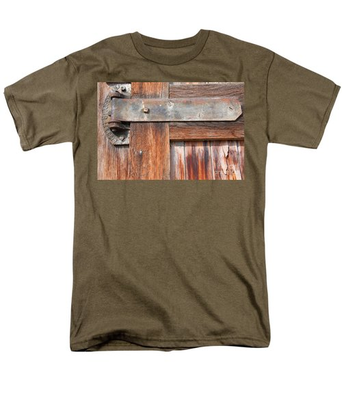 Hinge Door  Men's T-Shirt  (Regular Fit) by Minnie Lippiatt