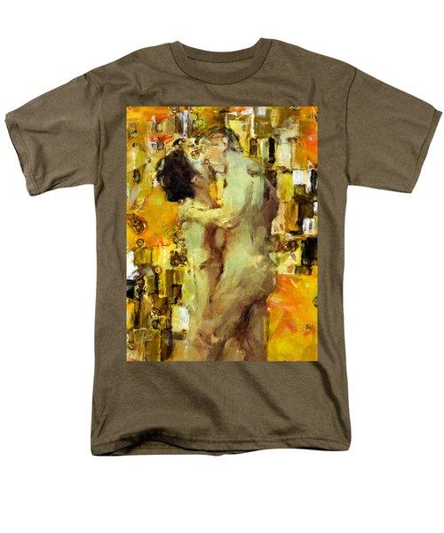 Hold Me Tight Men's T-Shirt  (Regular Fit) by Kurt Van Wagner