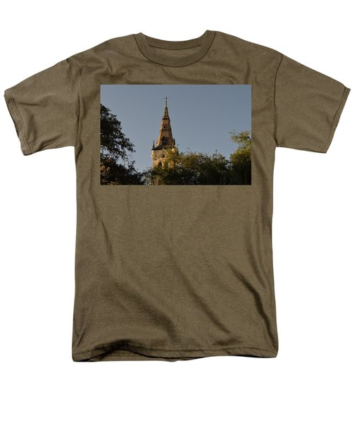 Men's T-Shirt  (Regular Fit) featuring the photograph Holy Tower   by Shawn Marlow