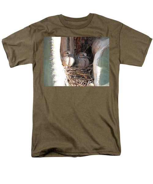 Men's T-Shirt  (Regular Fit) featuring the photograph Home All Alone by Deb Halloran