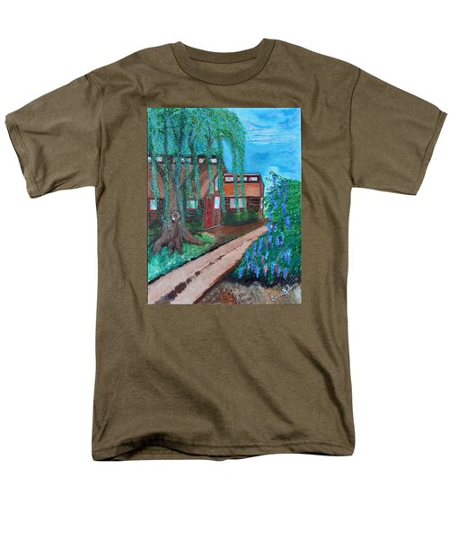 Men's T-Shirt  (Regular Fit) featuring the painting Home by Cassie Sears