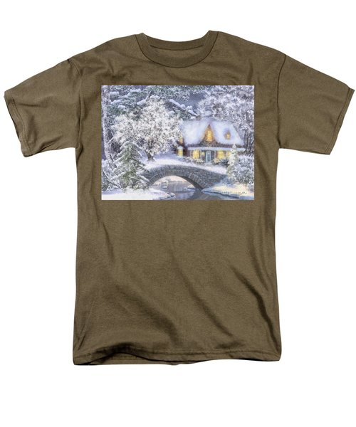 Home For The Holidays Men's T-Shirt  (Regular Fit) by Mo T