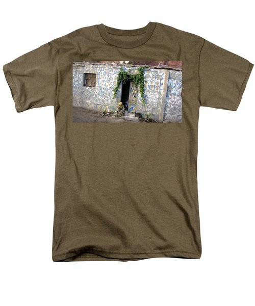 Men's T-Shirt  (Regular Fit) featuring the photograph Home In Ciro Egypt by Jennifer Wheatley Wolf