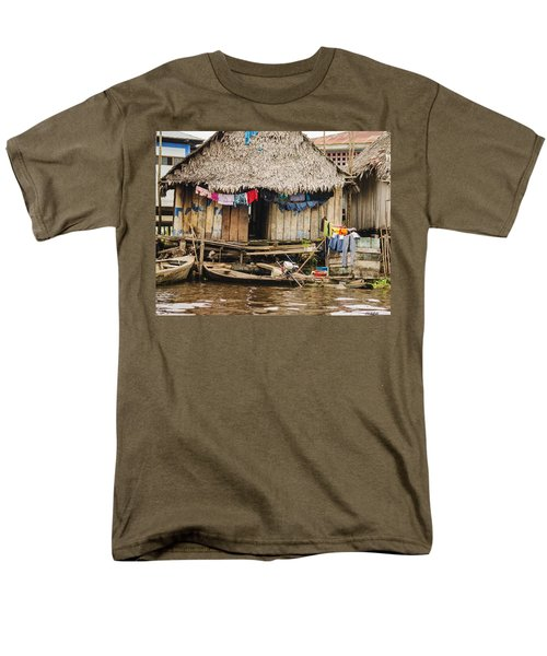 Home In Shanty Town Men's T-Shirt  (Regular Fit) by Allen Sheffield