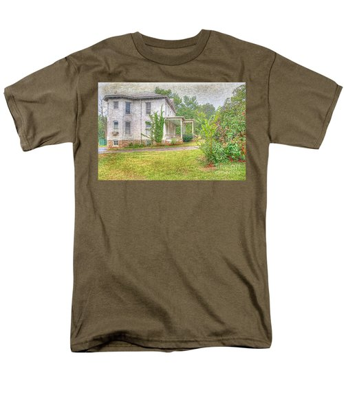 Home Is Where The Heart Is Men's T-Shirt  (Regular Fit) by Liane Wright