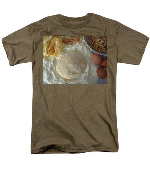 Homemade Pasta Men's T-Shirt  (Regular Fit) by Manuela Constantin