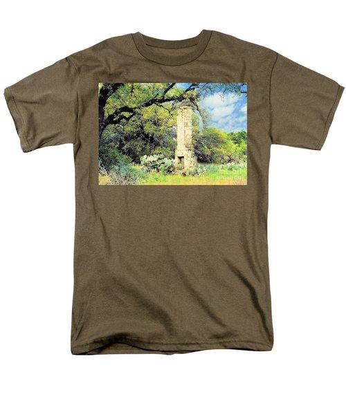 Forgotten Homestead  Men's T-Shirt  (Regular Fit) by Janette Boyd