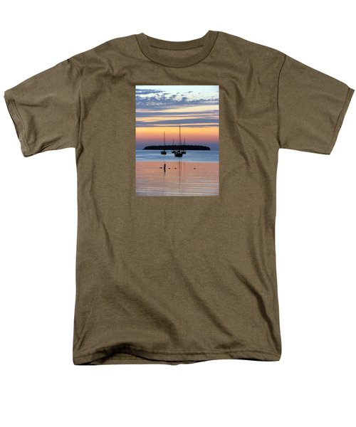 Horsehoe Island Sunset Men's T-Shirt  (Regular Fit) by David T Wilkinson