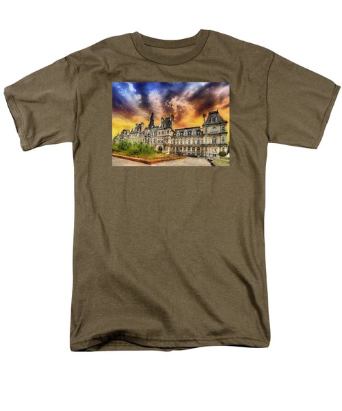 Sunset At The Hotel De Ville Men's T-Shirt  (Regular Fit) by Charmaine Zoe